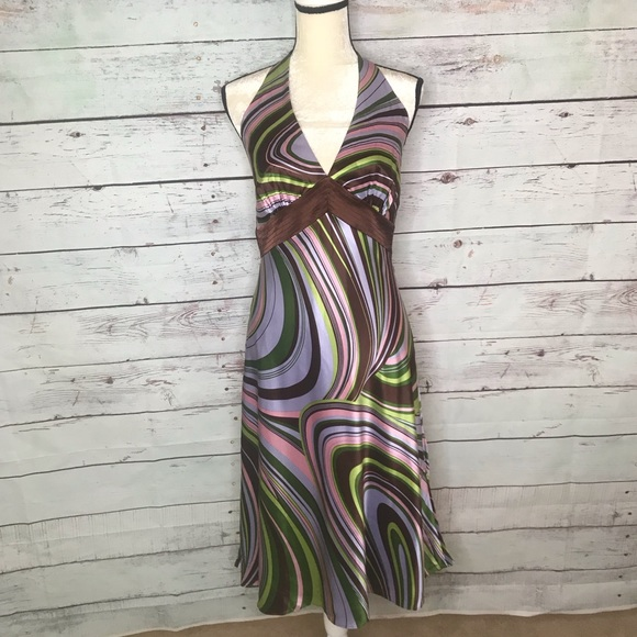 Laundry By Shelli Segal Dresses & Skirts - Laundry by Shelli Segal, NWT groovy halter dress